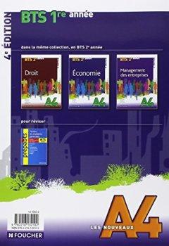 Livres Couvertures de Les Nouveaux A4 Economie BTS 1re année - 4e édition