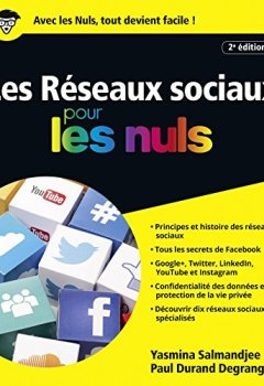 Livres Couvertures de Les Réseaux sociaux pour les Nuls, Nouvelle édition