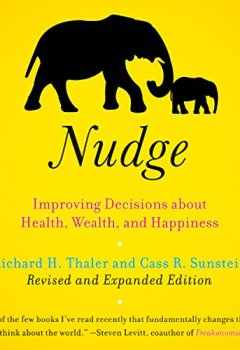 Livres Couvertures de Nudge: Improving Decisions About Health, Wealth, and Happiness