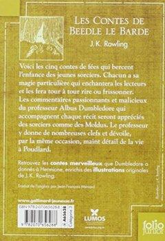 Livres Couvertures de Les Contes de Beedle le Barde