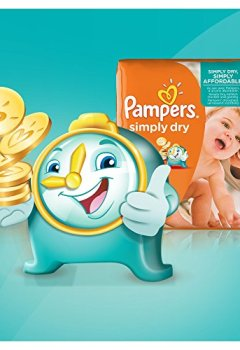 Livres Couvertures de Pampers - Simply Dry - Couches Taille 3 (4-9 kg/Midi) - Jumbo Pack - Lot de 2 (2 x 90 couches)
