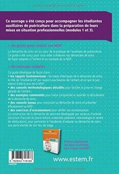 Livres Couvertures de Réussir ses MSP - La démarche de soins - Auxiliaires de puériculture