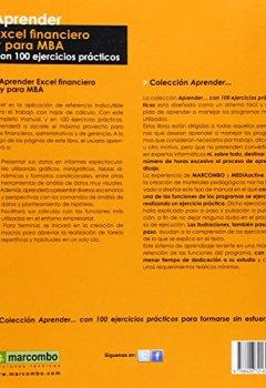 Portada del libro deAprender Excel financiero y para MBA (APRENDER...CON 100 EJERCICIOS PRÁCTICOS)