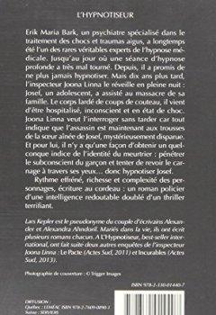 Livres Couvertures de L'Hypnotiseur
