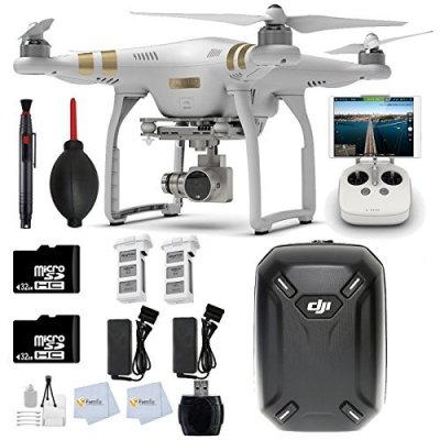 DJI-Phantom-3-Professional-Quadcopter-Drone-with-4K-UHD-Video-Camera-2-32GB-Memory-Cards-Backpack-2-Batteries-Reader-Lens-Cleaning-Pen-more