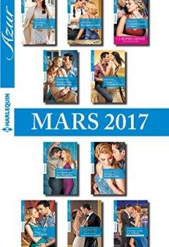 Livres Couvertures de 10 romans Azur + 1 gratuit (nº3805 à 3814 - Mars 2017)