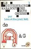 Le Dictionnaire Marabout Des Mots Croisés De A à G