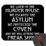 New American Horror Story Freak Show AHS Custom Design Cool Gaming Mousepd Mouse Pad Mat