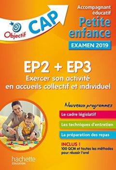 Livres Couvertures de Fiches CAP Accompagnant Educatif Petite Enfance - Tome 2 Exercer son activité en accueil collectif e