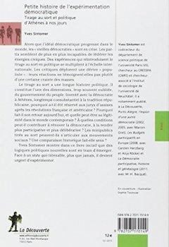 Livres Couvertures de Petite histoire de l'expérimentation démocratique