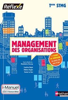 Livres Couvertures de Management des organisations Tle STMG - Collection Réflexe
