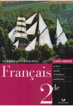 Livres Couvertures de Français 2e : Livre unique