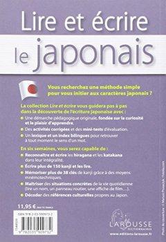 Livres Couvertures de Lire et écrire le Japonais