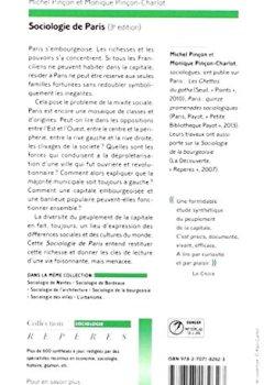 Livres Couvertures de Sociologie de Paris