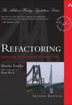 Livres Couvertures de Refactoring: Improving the Design of Existing Code