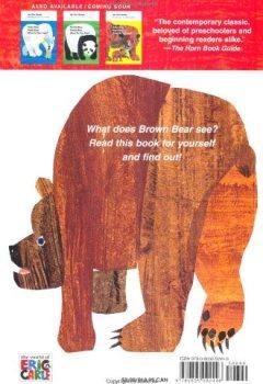 Livres Couvertures de Brown Bear, Brown Bear