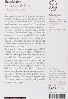 Livres Couvertures de Le Spleen de Paris : Petits poèmes en prose