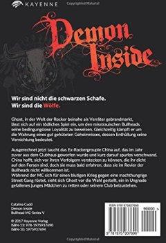 Buchdeckel von Demon Inside (Bullhead MC-Series, Band 5)