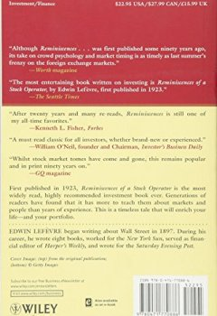 Livres Couvertures de Reminiscences of a Stock Operator