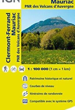 Livres Couvertures de Top100148 Clermont-Ferrand/Mauriac 1/100.000