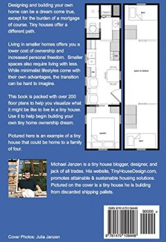 Livres Couvertures de Tiny House Floor Plans: Over 200 Interior Designs for Tiny Houses