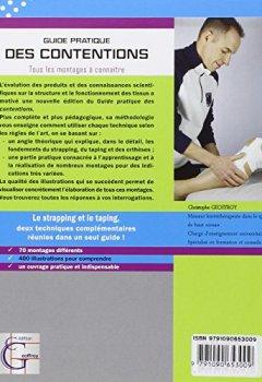 Livres Couvertures de Guide pratique des contentions : Strapping & taping, tous les montages à connaître