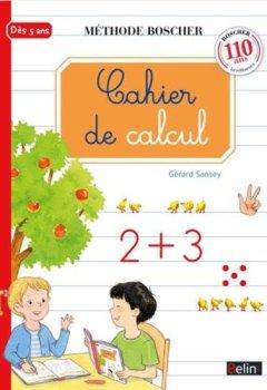 Livres Couvertures de Boscher : Cahier de calcul