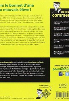 Livres Couvertures de La Culture générale Pour les Nuls, 2ème édition