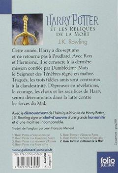 Livres Couvertures de Harry Potter, VII:Harry Potter et les Reliques de la Mort