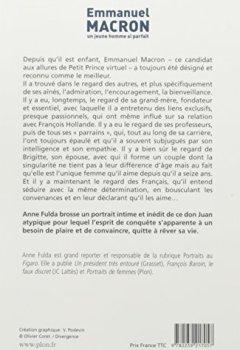 Livres Couvertures de Emmanuel Macron, un jeune homme si parfait