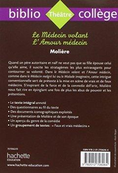 Livres Couvertures de Biblio Collège Le Médecin Volant