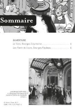 Livres Couvertures de Les Pavés de l'ours (Feydeau), Le Gora (Courteline): deux comédies vaudevilles