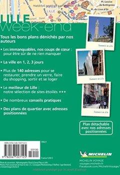 Livres Couvertures de Guide Vert Weekend Lille Michelin