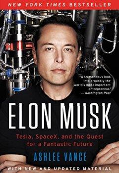 Livres Couvertures de Elon Musk: Tesla, SpaceX, and the Quest for a Fantastic Future