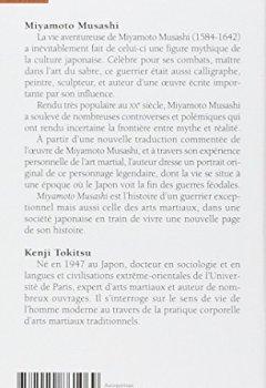 Livres Couvertures de Miyamoto Musashi . Maître de sabre japonais du XVIIe siècle. L'homme et l'Oeuvre, mythe et réalité