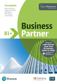 Livres Couvertures de Business Partner B1+ : Coursebook + Digital Resources
