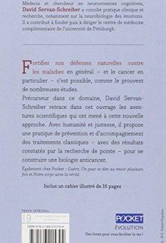 Livres Couvertures de Anticancer