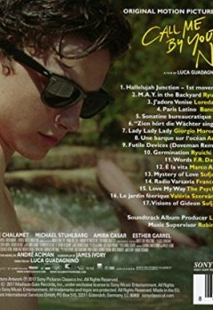 Livres Couvertures de Call Me By Your Name (Original Motion Picture Soundtrack)