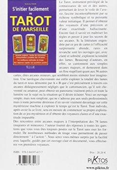 Livres Couvertures de Sinitier facilement au tarot de Marseille