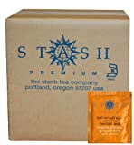 Stash Tea Lemon Ginger Herbal Tea, 100 Count Box of Tea Bags in Foil