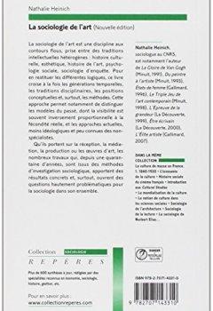Livres Couvertures de La sociologie de l'art