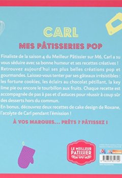 Livres Couvertures de Le Meilleur Pâtissier, Carl