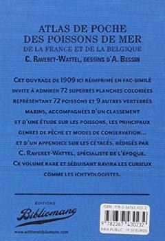 Livres Couvertures de Atlas de poche des poissons de mer de la France et de la Belgique