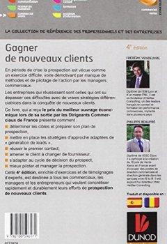 Livres Couvertures de Gagner de nouveaux clients - 4e éd. - La prospection efficace