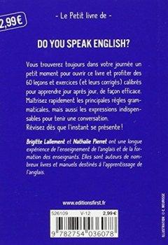 Livres Couvertures de Petit Livre de - L'anglais en 5 minutes par jour