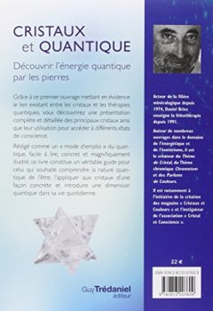 Livres Couvertures de Cristaux et quantique : Découvrir l'énergie quantique par les pierres