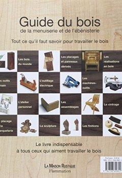 Livres Couvertures de Guide du bois, de la menuiserie et de l'ébénisterie
