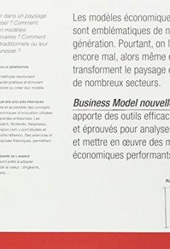 Livres Couvertures de Business Model Nouvelle Génération : Un guide pour visionnaires, révolutionnaires et challengers