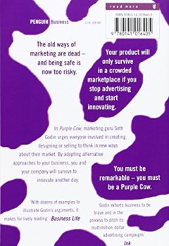 Livres Couvertures de Purple Cow: Transform Your Business by Being Remarkable