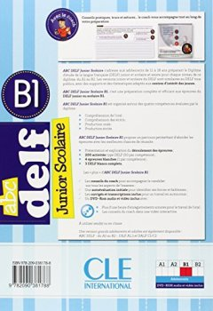 ABC DELF Junior scolaire - Niveua B1 - Livre + DVD de Indie Author